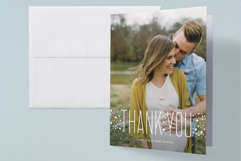 Worth It Pregnancy Announcements Thank You Cards