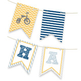 Oh Boy Bunting Banner by Kayley Miller