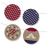 Patriot Personalizable Bunting Banners