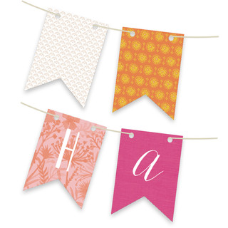 Wanderlust Personalizable Bunting Banner