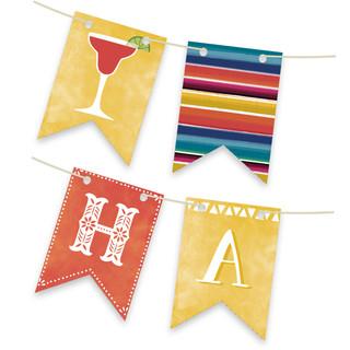 Fiesta! Personalizable Bunting Banner