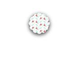 Berry Kraft Closure Stickers