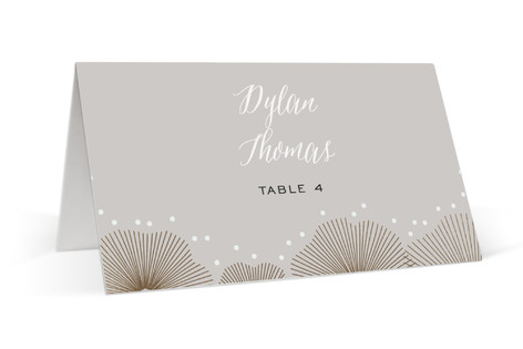 perfect harmony foil pressed place cards - Printed Place Cards