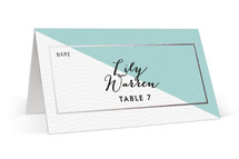 Come Fly with Us Foil-Pressed Place Cards