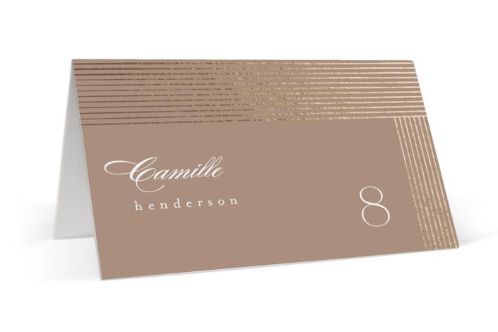 Cordelle Foil-Pressed Place Cards