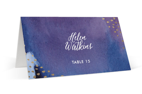 Mulberry Foil-Pressed Place Cards