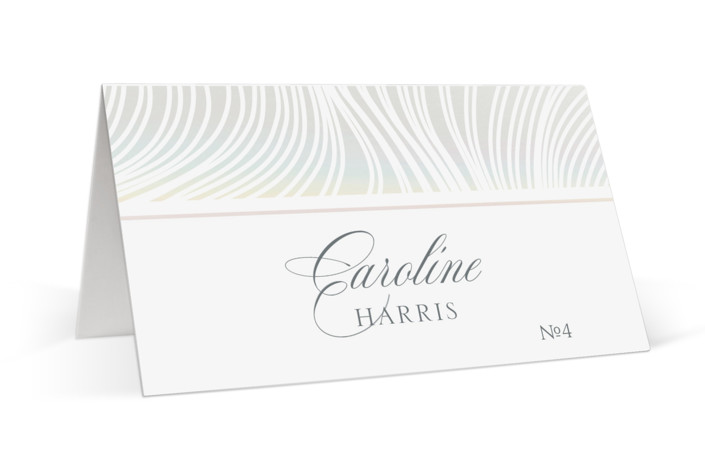 Lined Gloss Press Place Cards