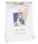 This is a pink unique wedding program by Aspacia Kusulas called Simply Love with standard printing on signature in diy.