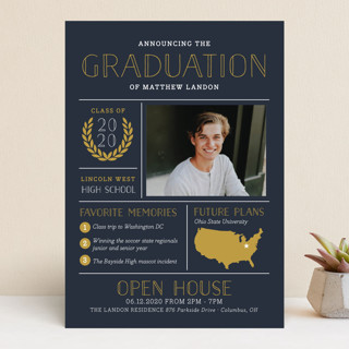 Grad Grid Graduation Announcements