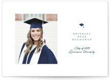 Simple Cap Graduation Announcements