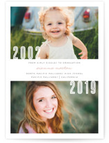 Now and Then Graduation Announcements By Lehan Veenker