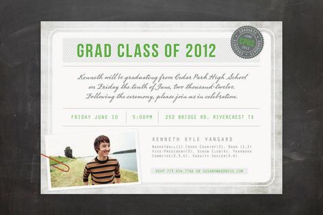 Diploma Graduation Announcements