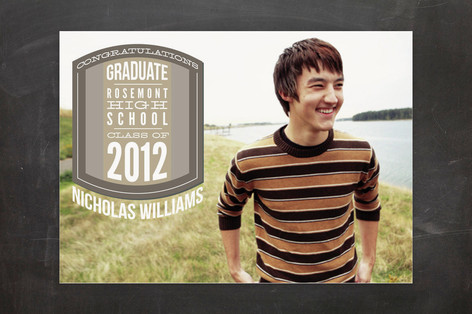 Varsity Patch Graduation Announcements