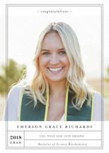 Grad Label Graduation Announcements