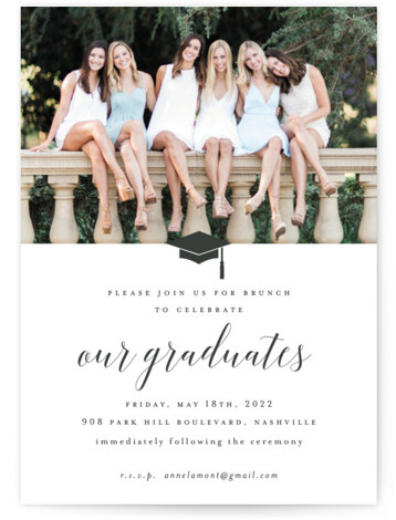 Our Graduates Graduation Announcement Cards