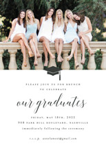 our graduates Graduation Announcements