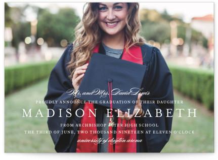 Elegance Graduation Announcements