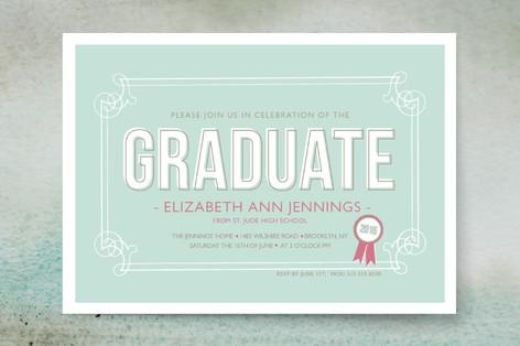 The Graduate Graduation Announcements