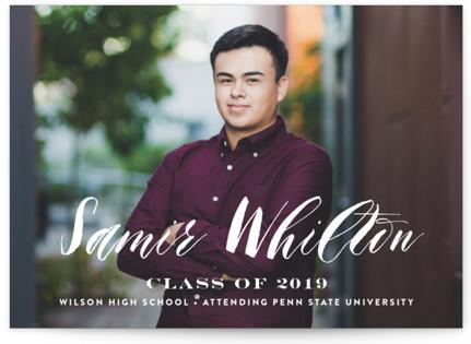 Namesake Graduation Announcements