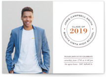 Graduate Ring Graduation Announcements By Luckybug Designs