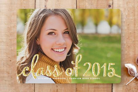 Type Frost Graduation Announcements