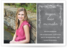Chalkboard Graduation Announcements By SimpleTe Design