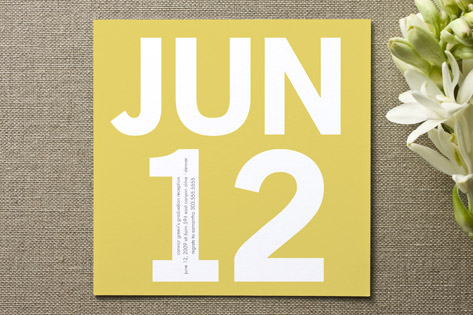 Calendar Graduation Announcements