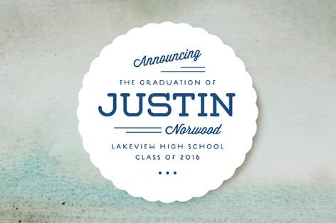 Hipster Graduation Announcements