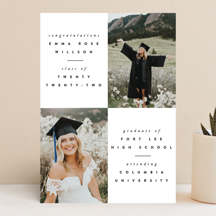 """""""Brightness"""" - Graduation Announcements in Ink by Ana Sharpe."""