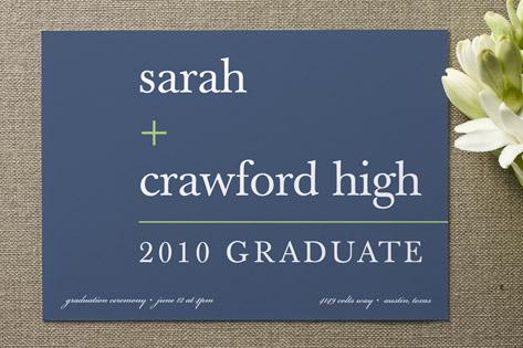 float + math Graduation Announcements