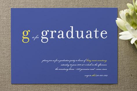 float + is for Graduation Announcements