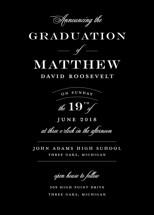 Formal Announcement Graduation Announcements