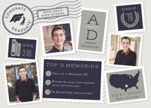 Postmark Graduation Announcements