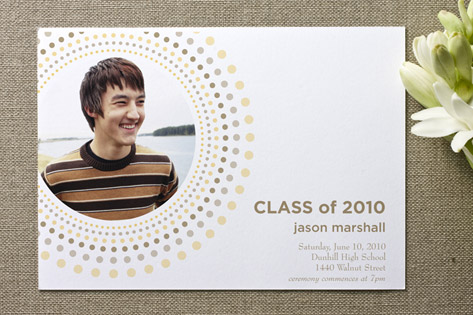 Italian Sunset Graduation Announcements