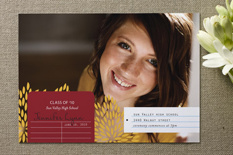Modern Library Graduation Announcements
