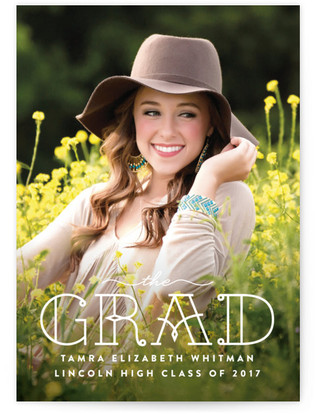 The Grad Graduation Announcements