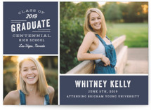 Industrial Type Graduation Announcements