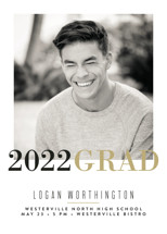 Modern Snapshot Graduation Announcements By Carrie ONeal