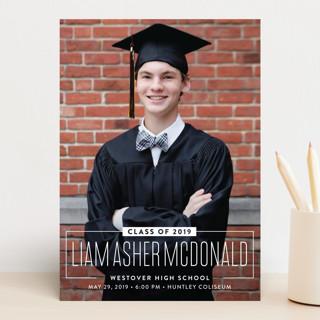 Nameplate Graduation Announcements