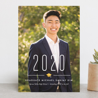 A Big Year Graduation Announcements