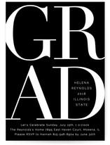 Bold Classic Grad
