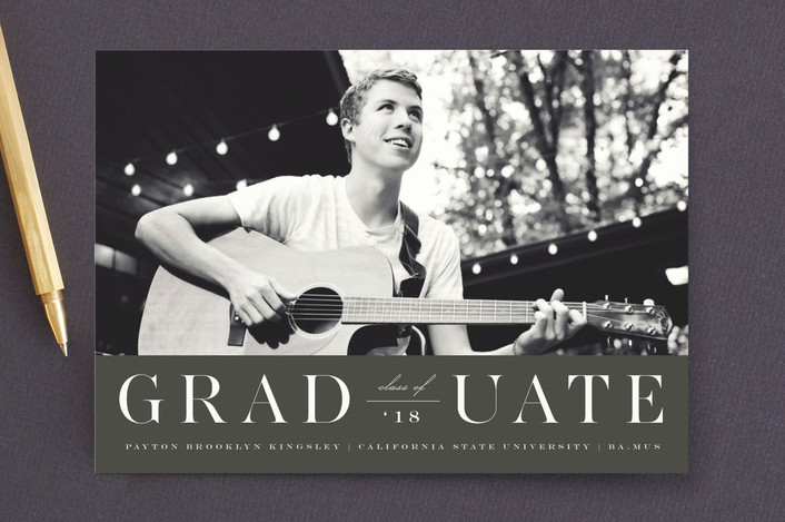 """""""Side by Side"""" - Graduation Announcements in Cloud by fatfatin."""
