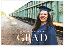 Rosy Glow Graduation Announcements