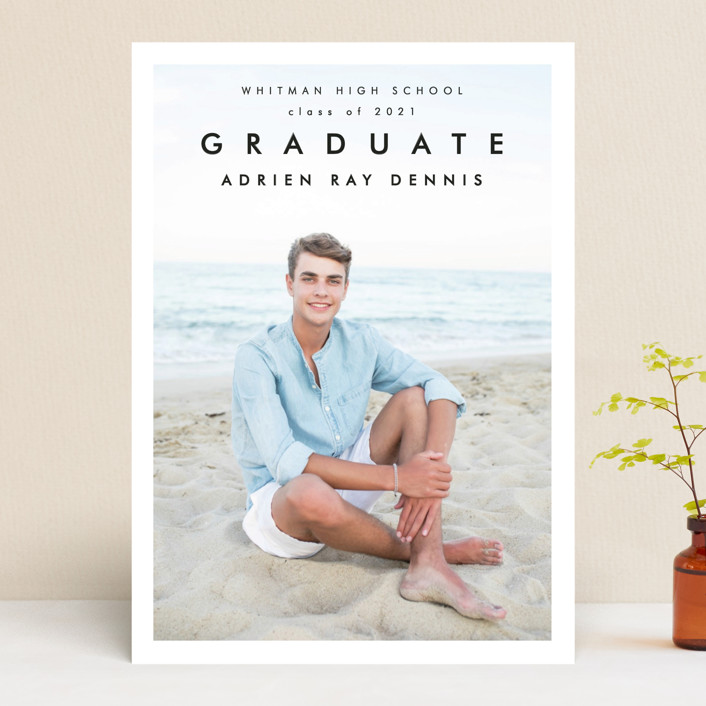 """""""Go Getter"""" - Graduation Announcements in Abyss by Kelly Stewart."""