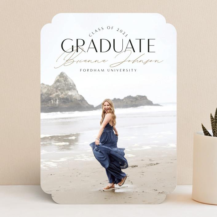 Signed Graduate, designed by Nicole Barreto
