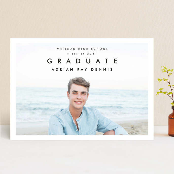 """Go Getter"" - Graduation Announcements in Abyss by Kelly Williams."