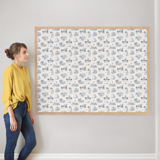 """Texas Modern Toile by Surface Love: 40"""" x 54"""" @ $230.00"""