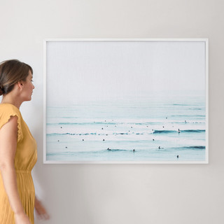"""The Sunday Blues by Summer Strauch: 30"""" x 40"""" @ $174.00"""