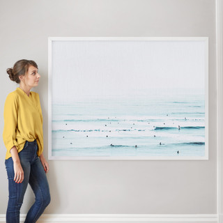 """The Sunday Blues by Summer Strauch: 40"""" x 54"""" @ $230.00"""