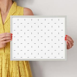 "Minimalist Grid by Erica Krystek: 11"" x 14"" @ $66.00"